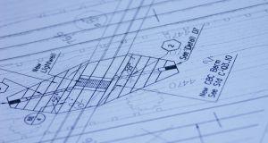 Blueprint diagram detail